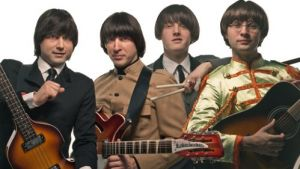 Serbian tribute band play at Beatles Week at Liverpool's Cavern Club