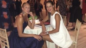 Ana Ivanovic parties with best friend in New York