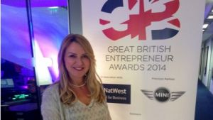 Community leading light Susie Ambrose nominated for Great British Entrepreneur Award