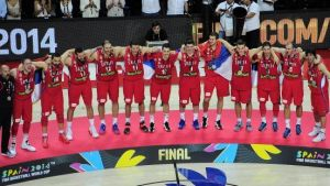 Serbia wins silver, US defends title