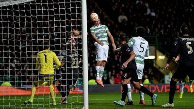 Celtic 2 Astra Giurgiu 1: Stefan Scepovic rises to occasion late to push Hoops to the top