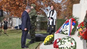 Crown Prince and Crown Princess attend Commonwealth Remembrance Day Ceremony