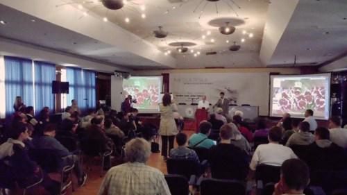 Dr Cetojevic's presentation