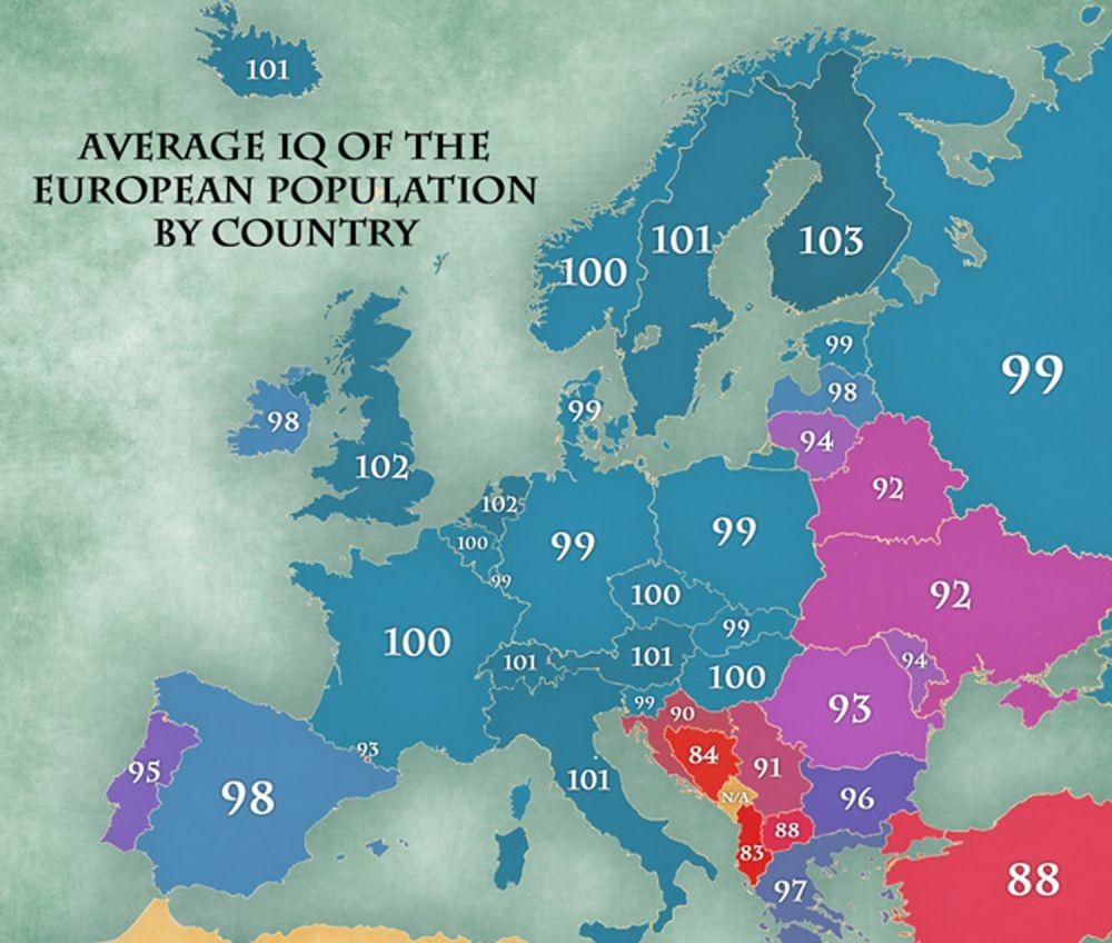 Brits brighter than Serbians by a tenth? « Britić