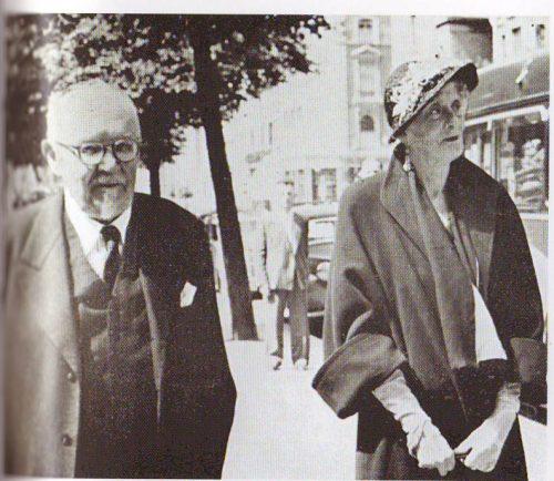 Lady Leila Paget and Dr Slobodan Jovanovic